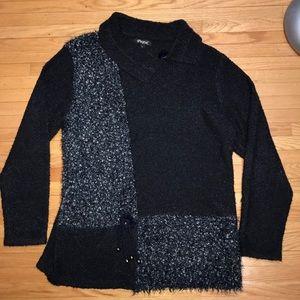 Papa Vancouver Boucle Knit Sweater